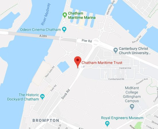 How to find Chatham Maritime Trust